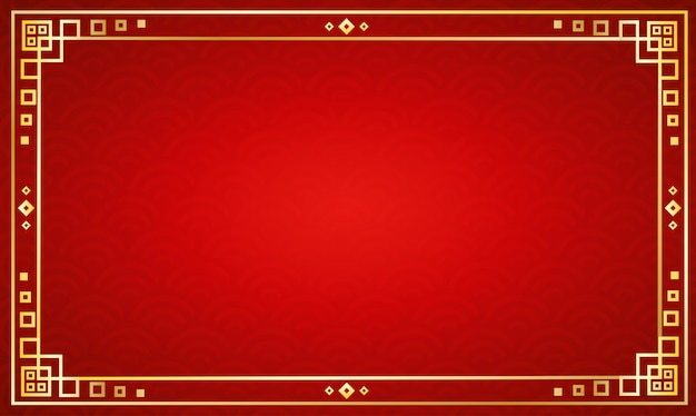 Chinese traditional background Premium Vector