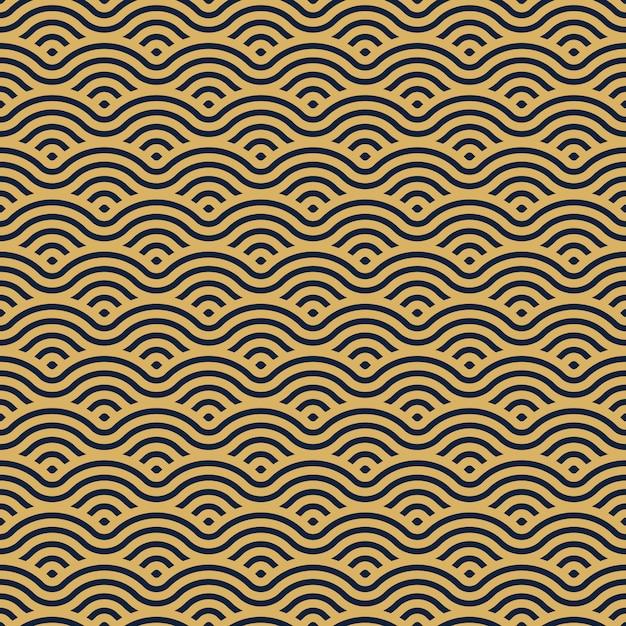 중국 전통 동양 장식 배경입니다. 질감 아시아 전통 모티브. 완벽 한 기하학적 모양 패턴입니다. 프리미엄 벡터