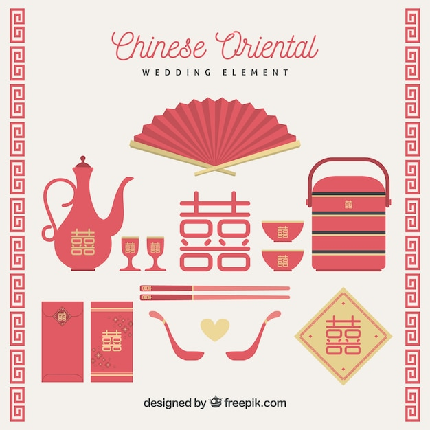 Chinese wedding elements