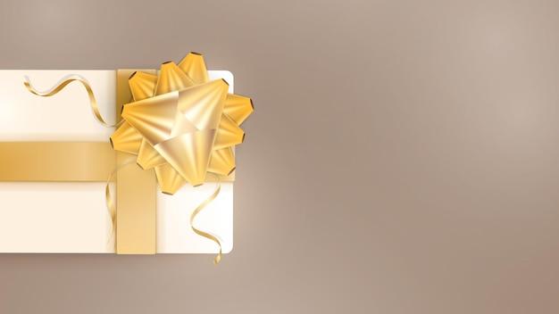 Шоколадный фон с реалистичными подарочными коробками цвета шампанского Premium векторы