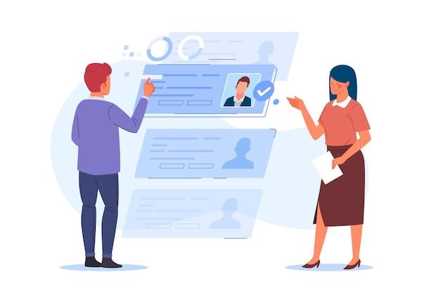 Иллюстрация к статье: Как отбирать кандидатов по резюме, или эффективный «скрининг»