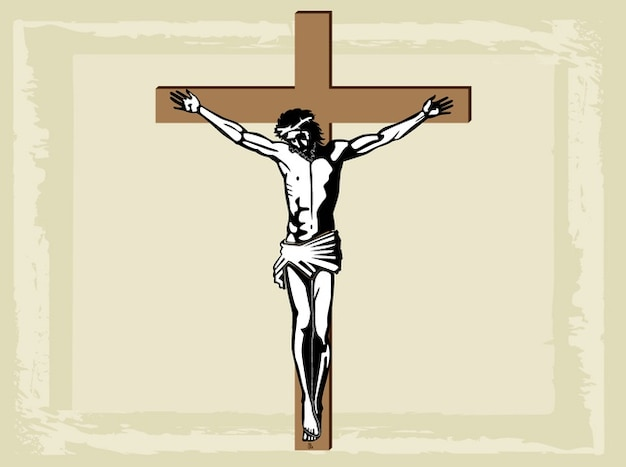 Christianity religious holy jesus cross\ vector