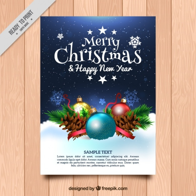 free christmas and new year greetings