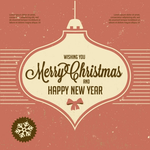 Christmas and new year greeting vector free download christmas and new year greeting free vector m4hsunfo