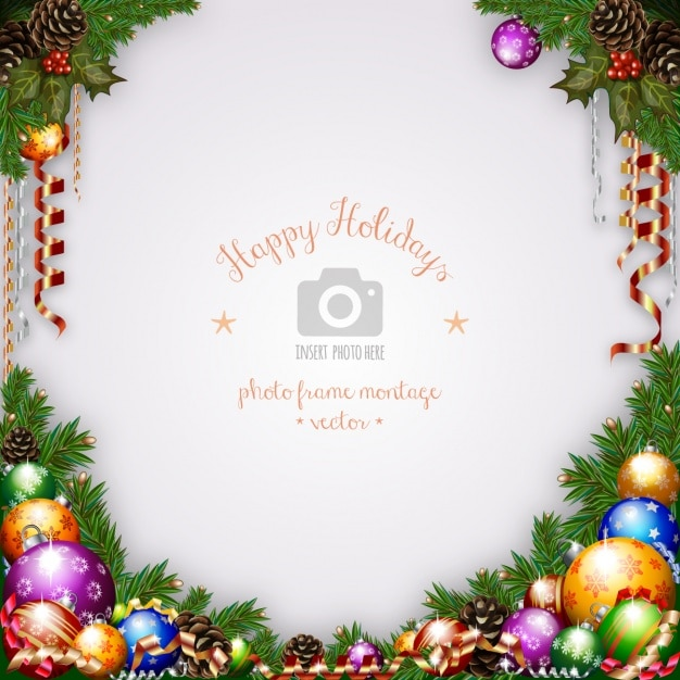 Christmas background design Vector | Free Download