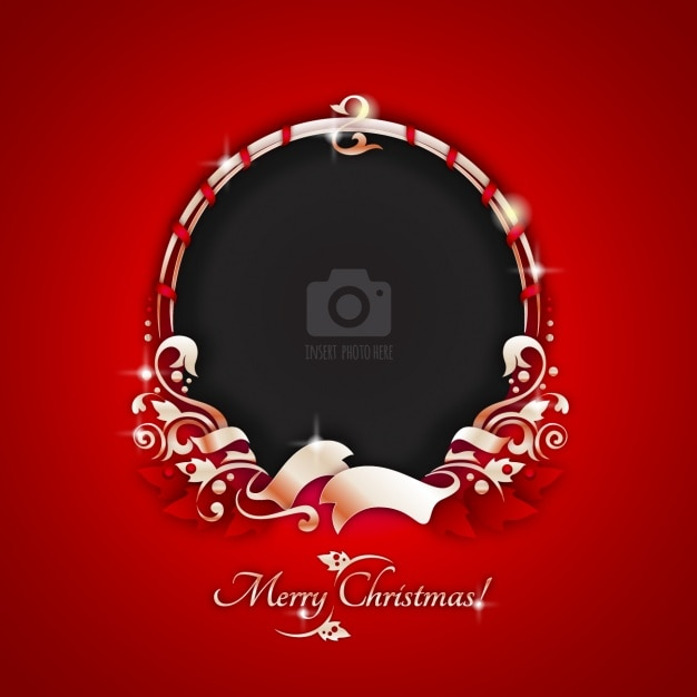 Christmas frame vectors photos and psd files free download - Weihnachtskarten motive kostenlos download ...