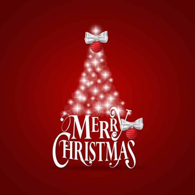 Christmas background design Free Vector
