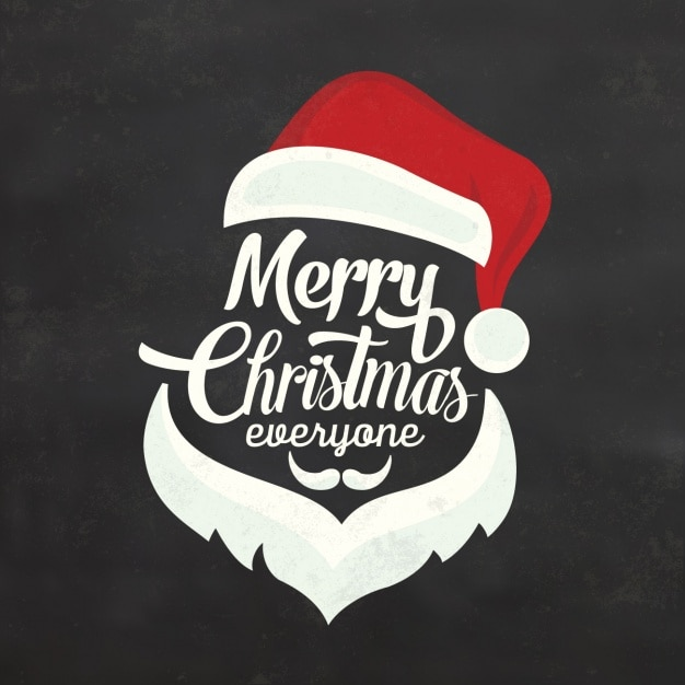 christmas background design free vector - Merry Christmas Logos