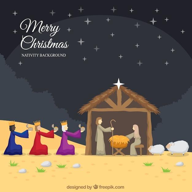 Christmas Nativity Background 60015