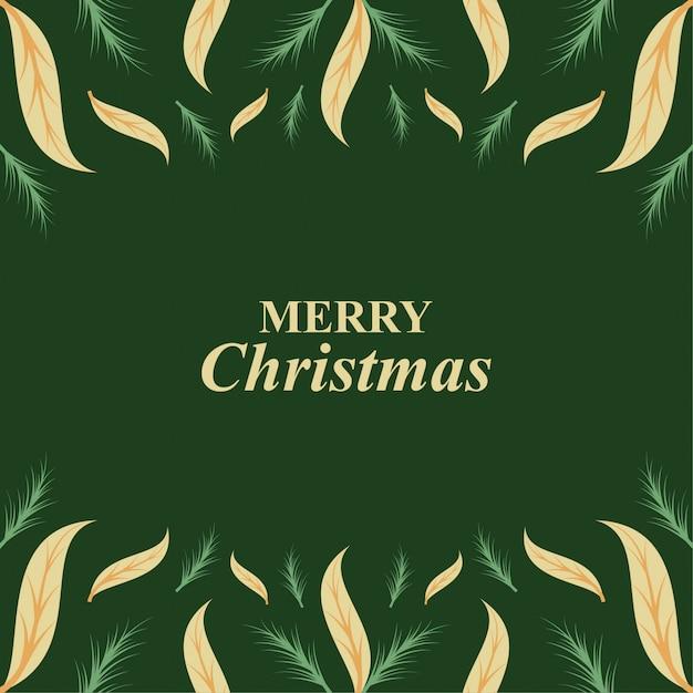 クリスマスの背景。 Premiumベクター