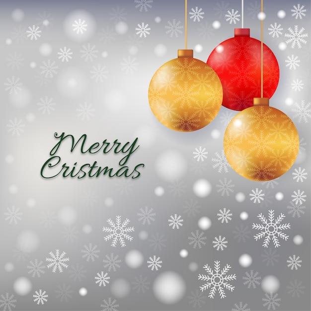 Christmas background. Premium Vector