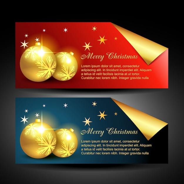 Christmas balls labels