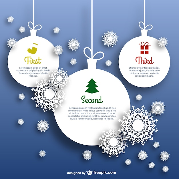 Christmas Balls Template Free Vector  Christmas Template Free