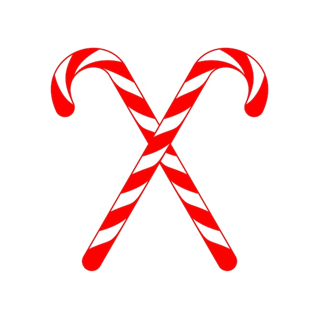 christmas candy cane cross vector premium download rh freepik com candy cane vector clipart free candy cane vector pattern