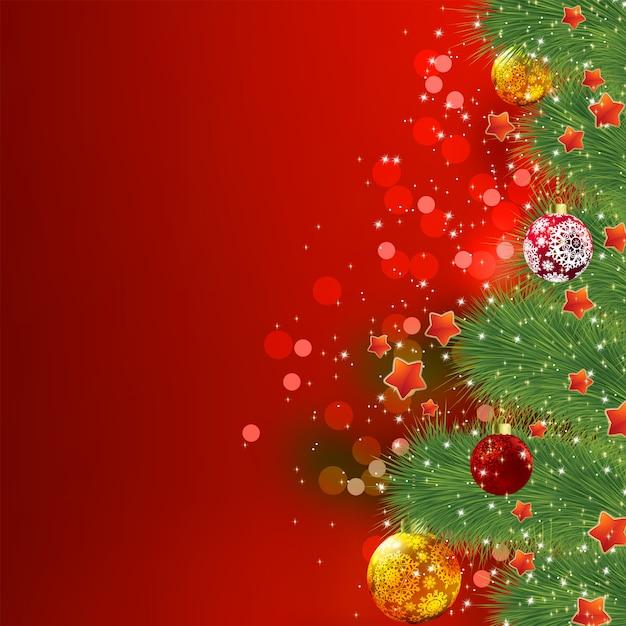 クリスマスカード。 Premiumベクター
