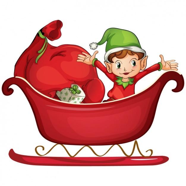 Milf elf rides santas sleigh