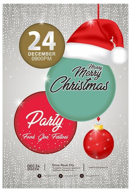 Christmas Flyers.Christmas Flyers Vector Premium Download