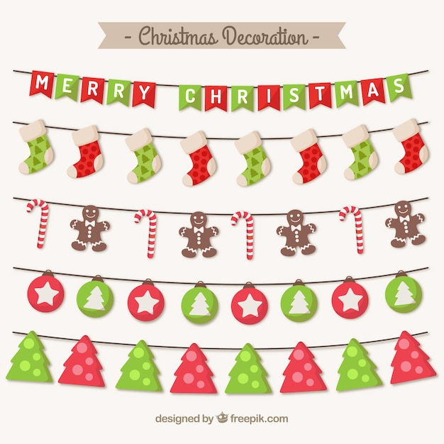 Christmas Decorations Vector Pack Christmas Decoration