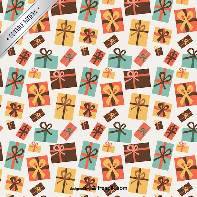 Christmas gifts pattern