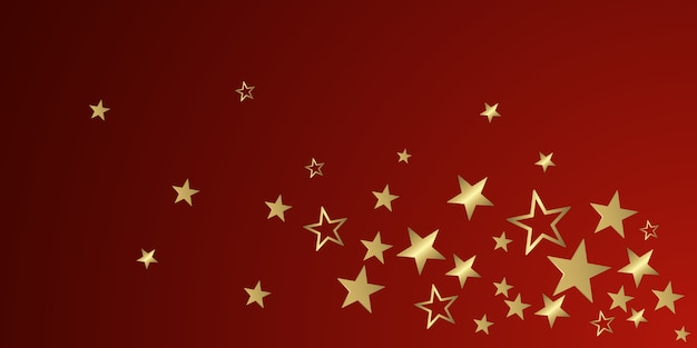 Christmas glitter stars Premium Vector