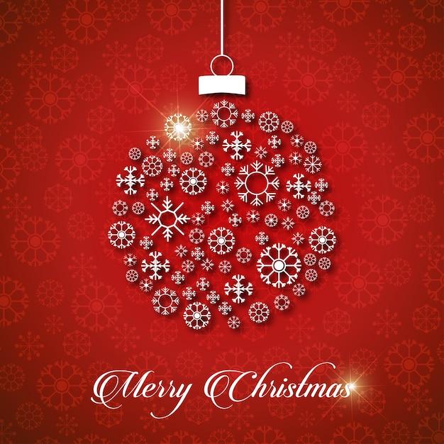 Christmas Greeting Card Or Poster Design. Merry Christmas