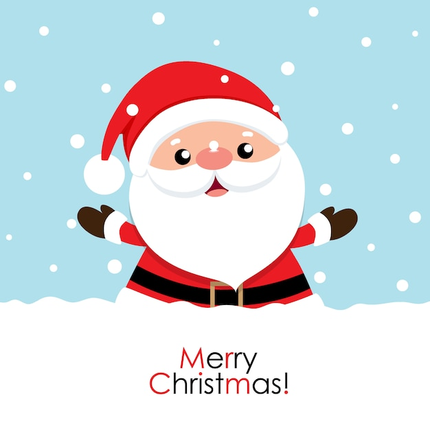 Christmas greeting card Premium Vector