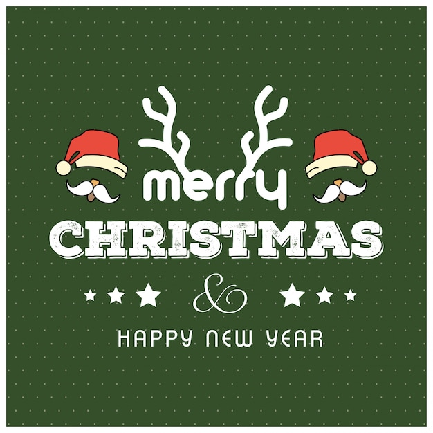 Christmas Greetings.Christmas Greetings Card Vector Free Download