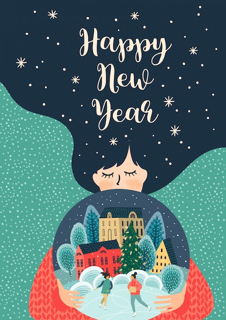Happy New Year Illustration 12