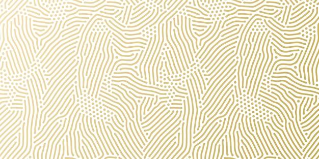 인사말 카드 디자인을위한 크리스마스 휴일 황금 패턴 배경 템플릿. 프리미엄 벡터
