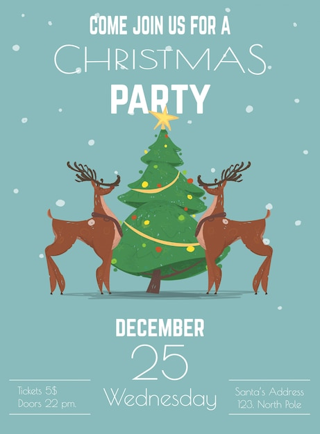 1,410+ holiday party customizable design templates   postermywall.