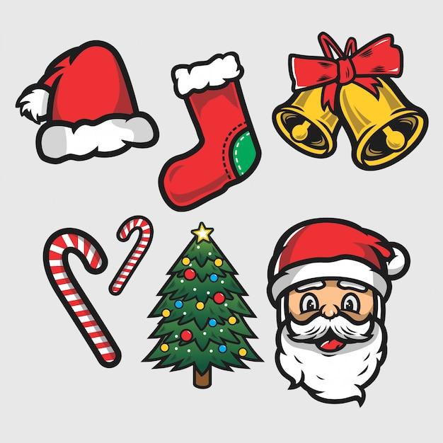 Christmas illustration Premium Vector