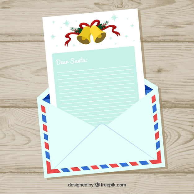 Christmas letter in an envelope template vector free download christmas letter in an envelope template free vector spiritdancerdesigns Choice Image