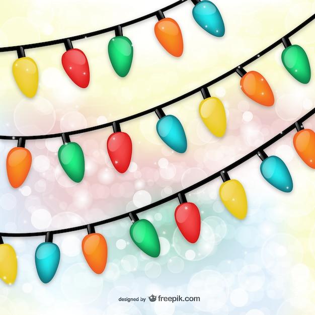 Christmas lights art free