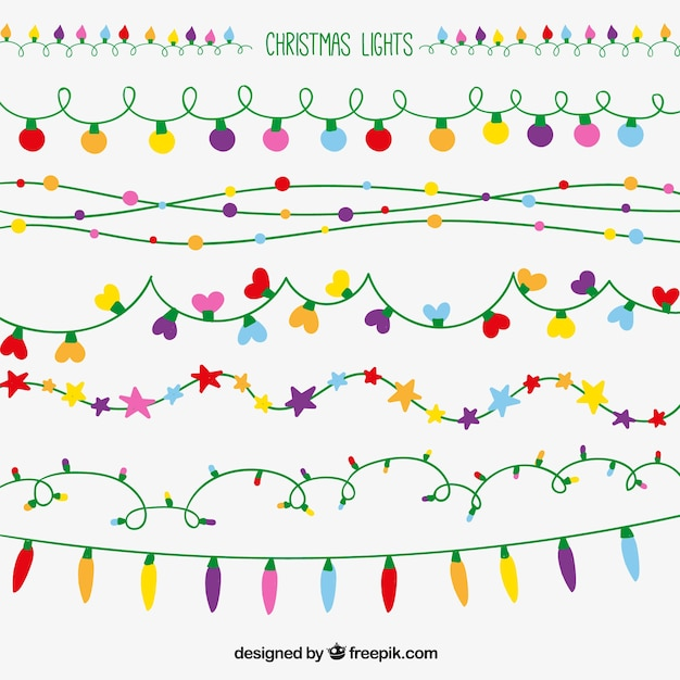 how to draw a christmas light