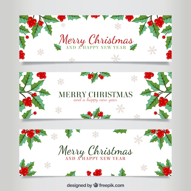 Winter Holiday Banners Prophetic Worship Banners