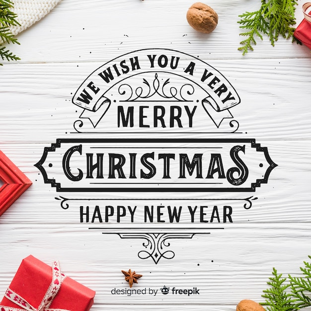 The Best Merry Christmas And A Happy New Year Writing