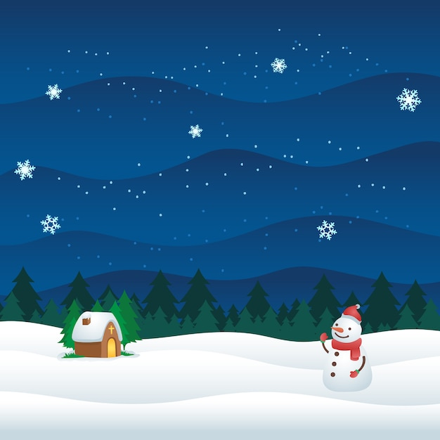 Christmas ornament pattern wallpaper banner Premium Vector