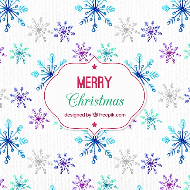 Christmas pattern design Free Vector