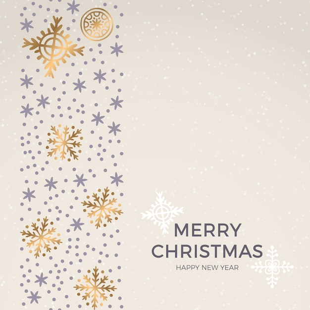 Christmas pattern, happy winter holiday tile background Premium Vector