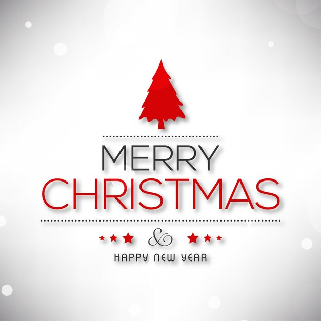 christmas poster including typography and x mas on plain background