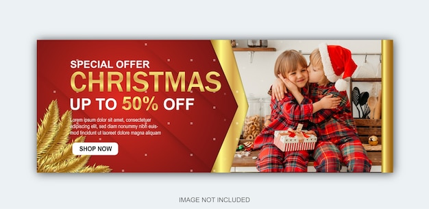 Christmas sale  collection Premium Vector