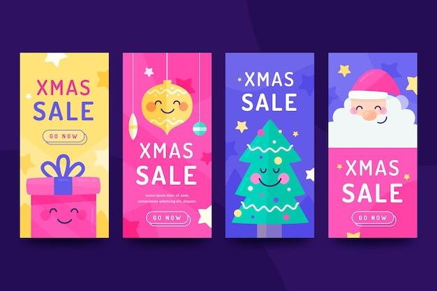 Рождественская распродажа сборник рассказов instagram Бесплатные векторы