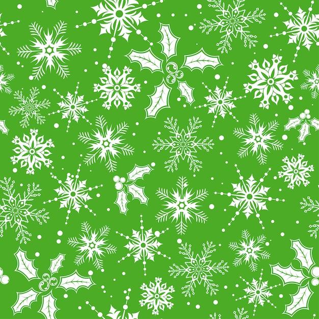 Christmas seamless background Premium Vector