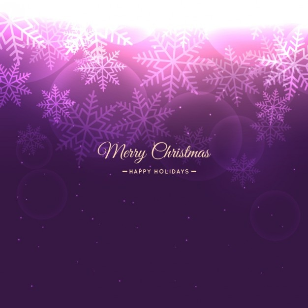 Christmas snowflakes background in purple color vector - Is purple a christmas color ...