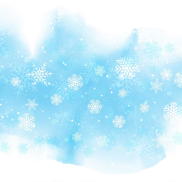christmas snowflakes vector free download