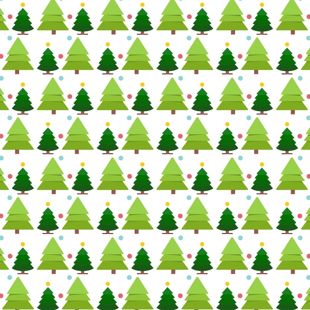 Christmas Tree Pattern.Christmas Tree Pattern Vector Free Download