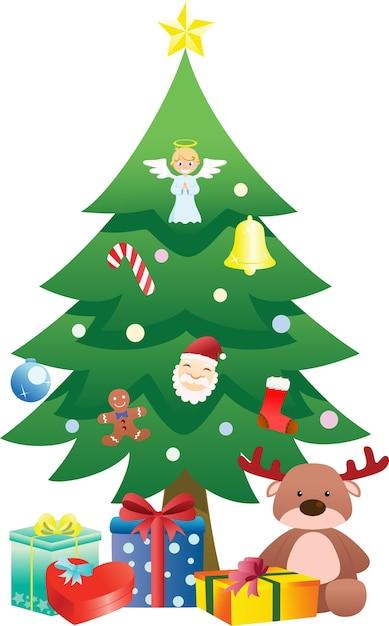 Christmas tree Vector | Premium Download