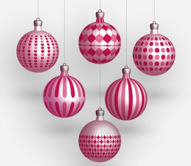 Christmas vector balls vector free download - Boule de noel geante decoration ...