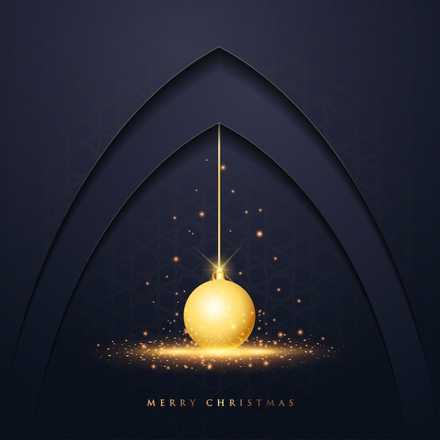 Christmas Vector Design Greeting Card Premium Vector