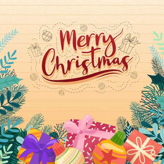 크리스마스 기독교인의 크리스마스 벡터 아이콘 새 해 장식 그림 무료 벡터